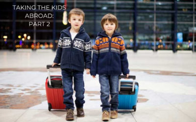 Are your children travelling abroad with your ex?